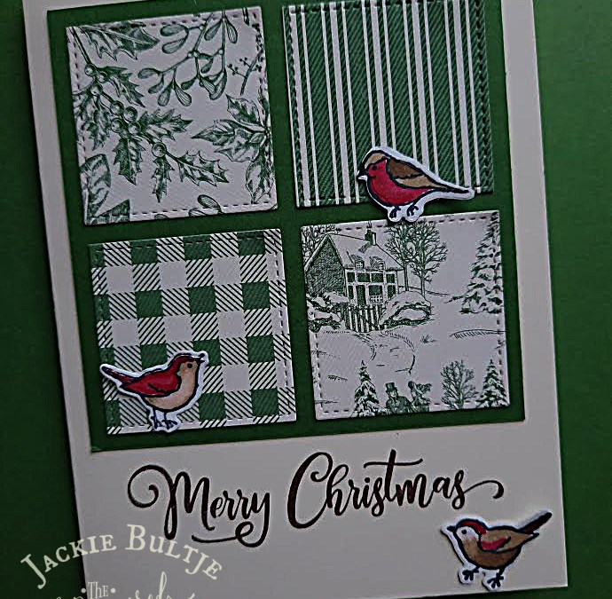 Toile Tidings #loveitchopit Cards