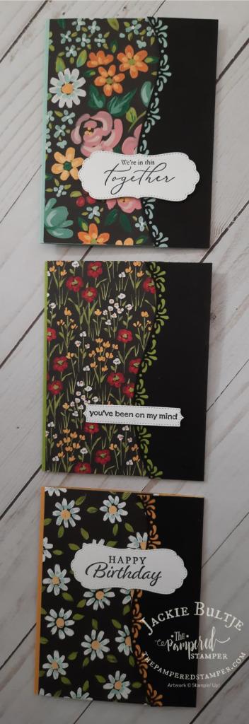 Flower & Field cards