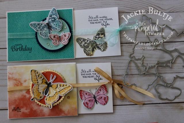 Butterfly Brilliance Slider card