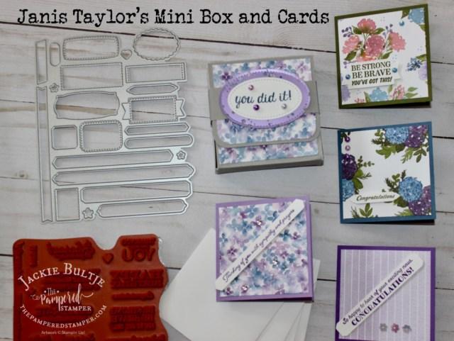 Hydrangea Hill mini box and cards
