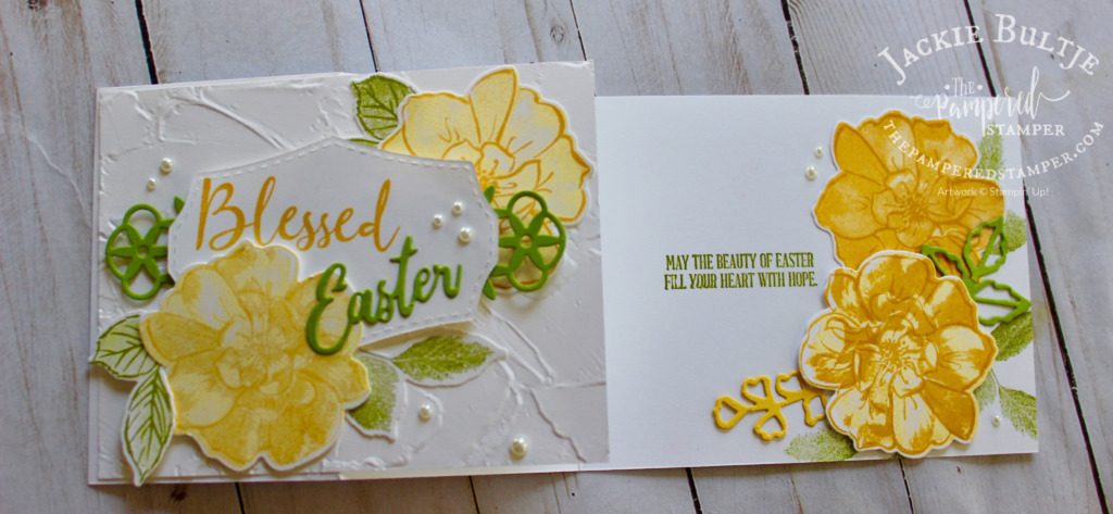 To A Wild Rose Happy Easter Card