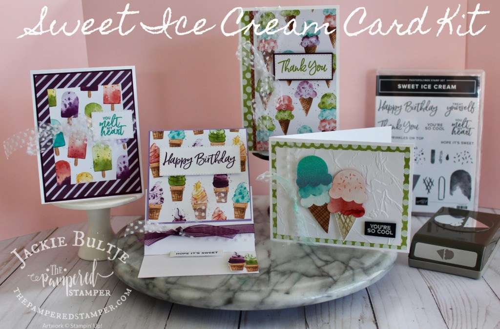 Sweet Ice Cream Class in the Mail