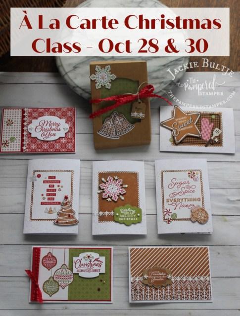 Gingerbread & Peppermint class