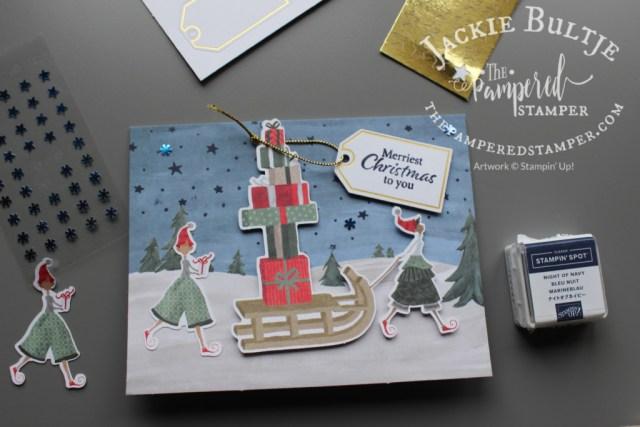 Christmas Whimsy Card Kit sample
