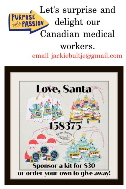 "Love Santa kit ""Fun-Raiser"" flyer"