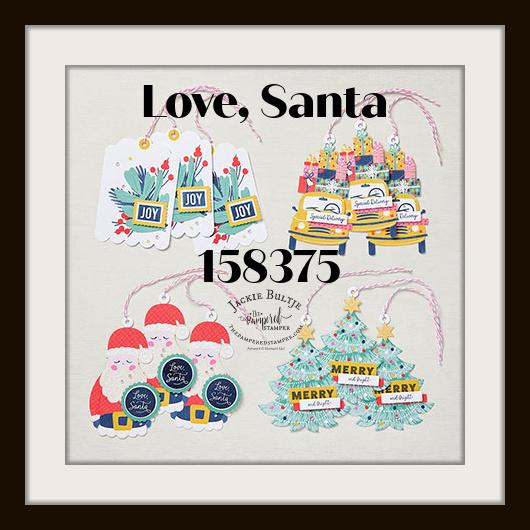 Love Santa kit completed tags