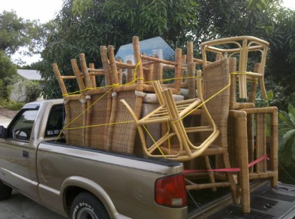 How much furniture can you get on one truck?