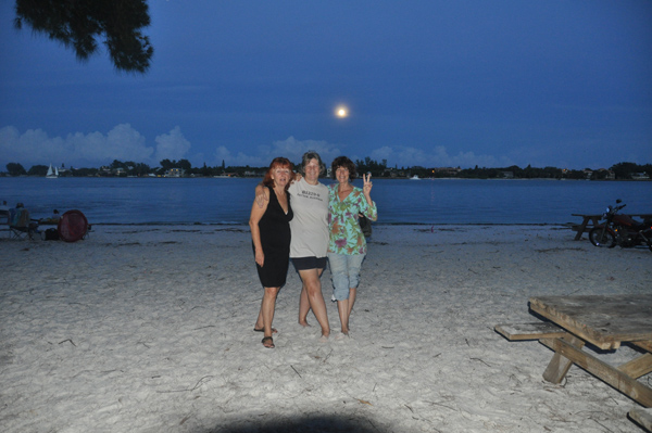 The talk about Panama group. The gal on my left was my traveling companion when I came down in October.