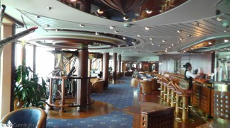 One of the many bars on the ship.