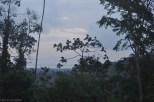 There is the water of Chiriqui Grande in the distance.