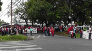 I happened across this group of Suntracs (labor union) gathering for a labor day parade.