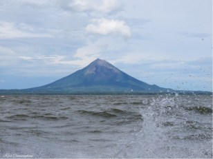 The volcano is incredibly beautiful!