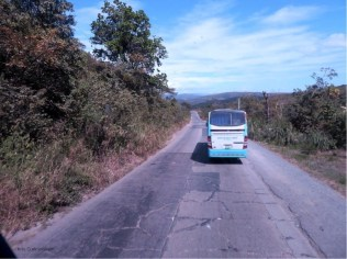 As we got closer to Santiago, we drove over some of the older road that is in such poor condition with all the cracks and holes. The vehicles were all over the road as they tried to avoid the bumps and holes as much as they could. It is going to be wonderful when there is a new road!