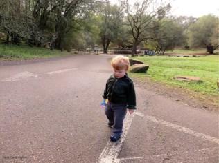 Walking is fun