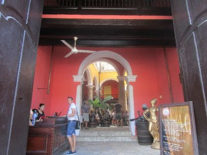 rum museum, though we didn't realize it at the time
