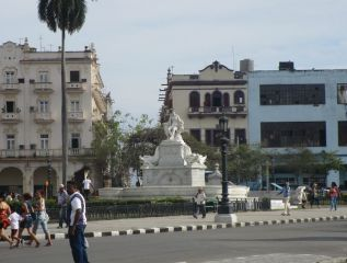Fuente de la India o la Noble Habana