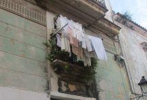 laundry everywhere, always