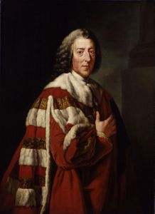 William Pitt, First Earl of Chatham by Richard Brompton, 1772.