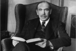 John Maynard Keynes around the time of the publication of The General Theory of Employment, Interest, and Money (1936).