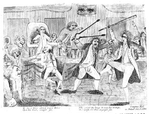 """""""Congressional Pugilists,"""" Library of Congress"""