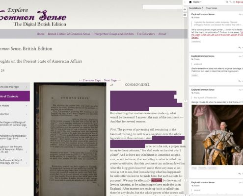 The Digital Tavern: Conceptualizing Parallels between Textual Networks in the Age of Revolutions and the Digital Humanities Today