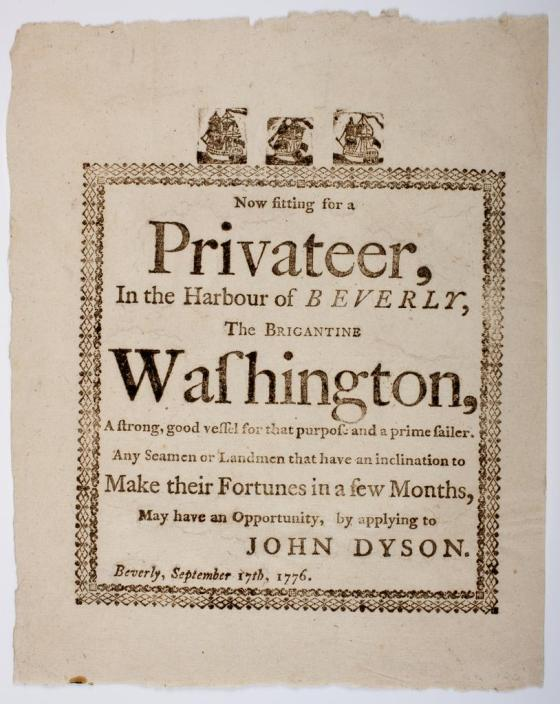 Exploring the High Seas of the Revolution: Privateers in the First-Half Survey