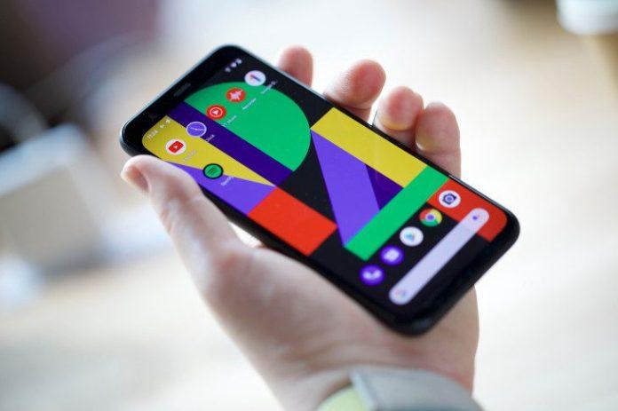 Google Pixel 4 Display