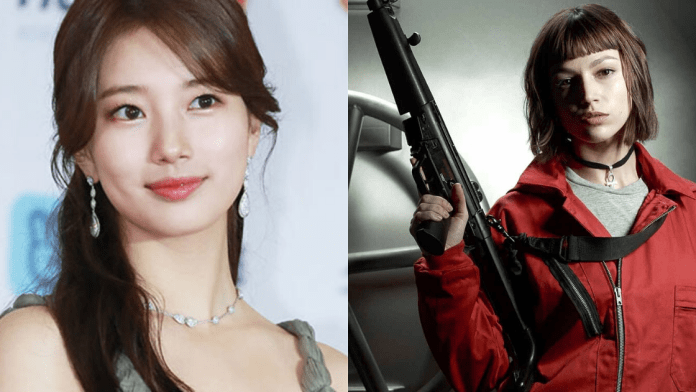 Bae Suzy as Tokyo in the Money Heist Korean Remake