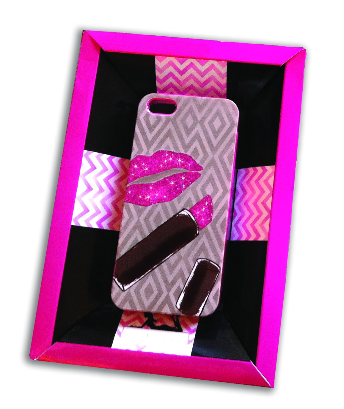sparkle lips iphone case (2)