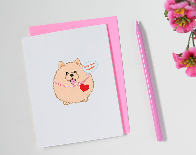 queeniescards_photo_greeting-card_pomeranian-love_product_2