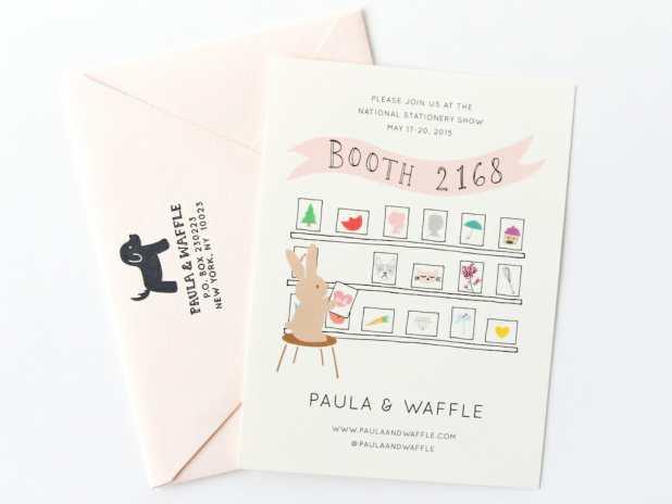 Paula & Waffle_Mailer_Front