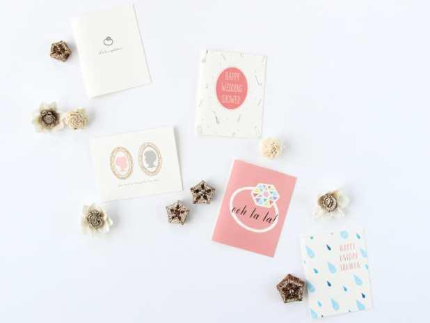 Paula & Waffle_Wedding Cards