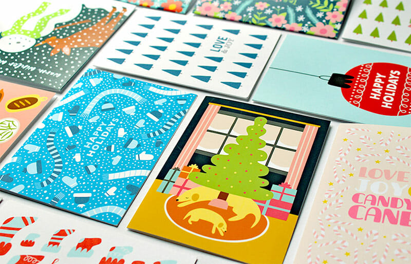 holiday cards from klinger creative - Holiday Cards 2017
