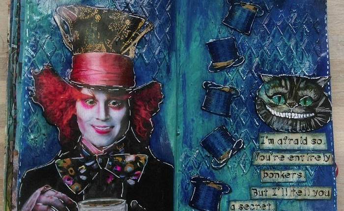 AJ-side The Mad Hatter, Maria Bejlegaard, Danmark