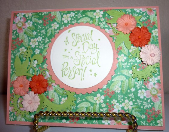 A Spellbinders Quot Die Of The Month Club Quot Card The Paper