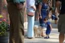 Jahan meets a puppy 2015