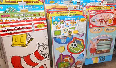 Teacher's kits and supplies