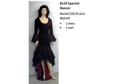 119 Spanish Dancer