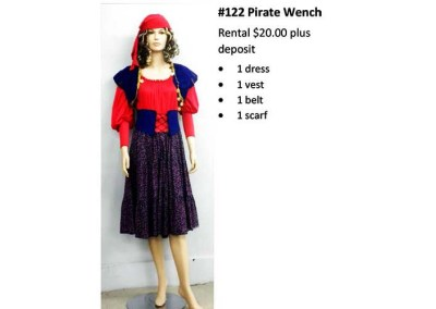122 Pirate Wench