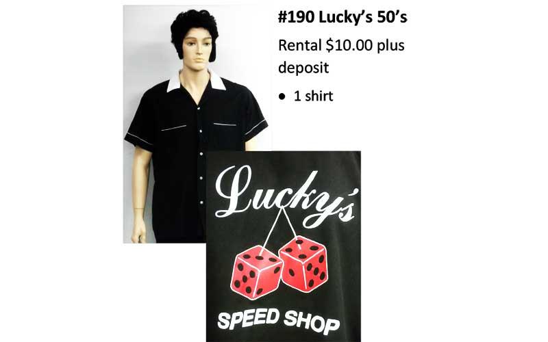 190 Luck's 50's