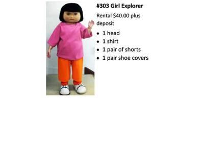 303 Girl Explorer