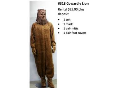 318 Cowardly Lion