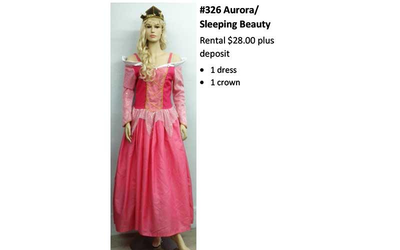 326 Aurora – Sleeping Beauty