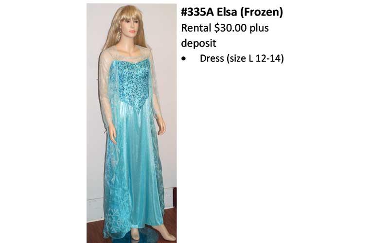 335A Elsa (Frozen)
