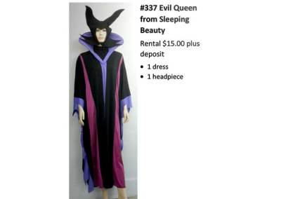 337 Evil Queen from Sleeping Beauty