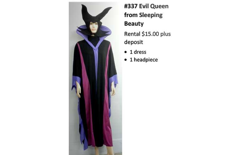 337 Evil Queen from Sleeping Beauty