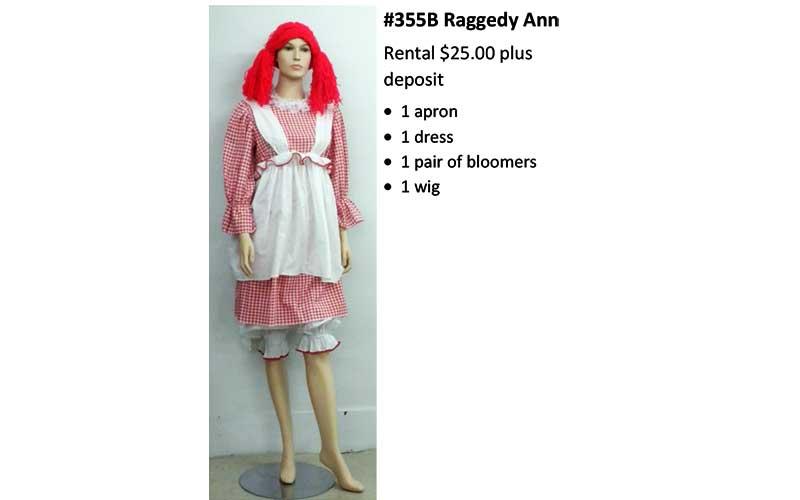 355B Raggedy Ann
