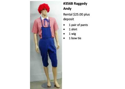 356B Raggedy Andy
