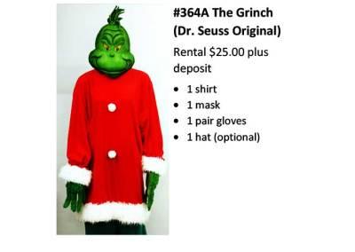 364A The Grinch (Dr. Seuss Original)