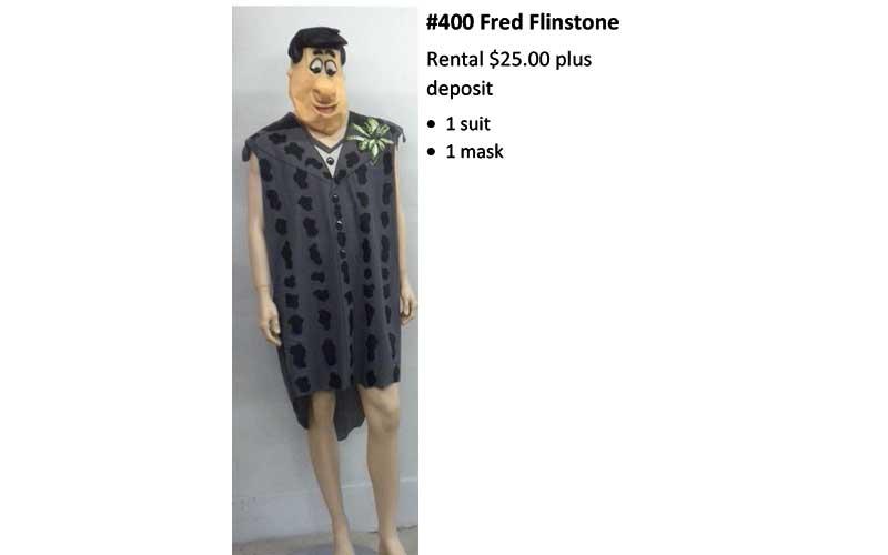 400 Fred Flintstone